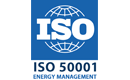 ISO 50001 certified